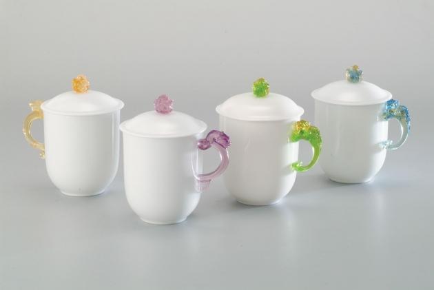 小凍玉蓋杯組 1
