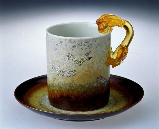 蜻蜓馬克杯 1