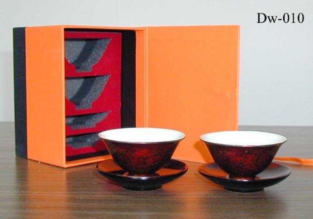 漆瓷玉蘭杯 2