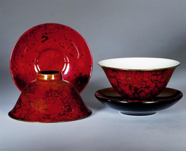 漆瓷玉蘭杯 4