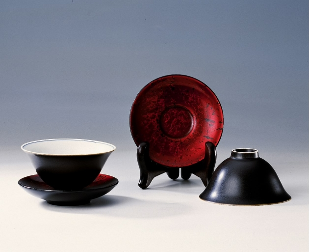 漆瓷玉蘭杯 1