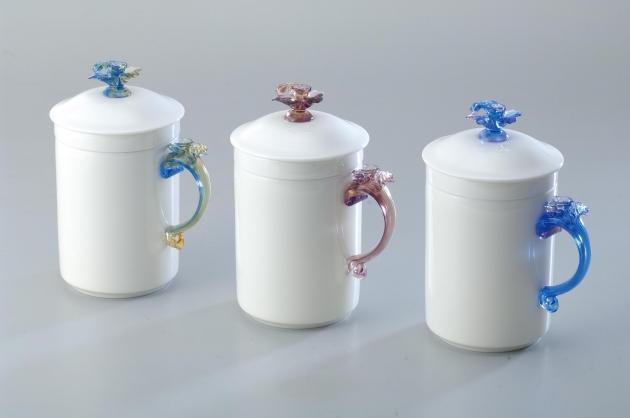 蘭花濾膽蓋杯 2