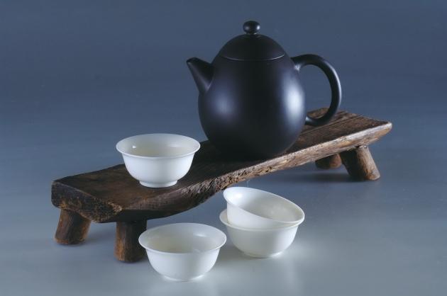 夾碳黑陶壺組(龍蛋) 3