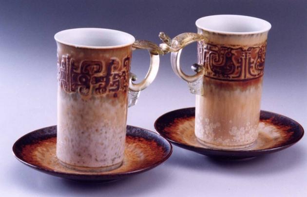 琉璃陶瓷多媒材結合 1